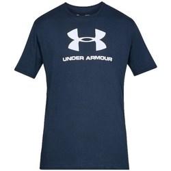 textil Herre T-shirts m. korte ærmer Under Armour Sportstyle Logo Tee Flåde