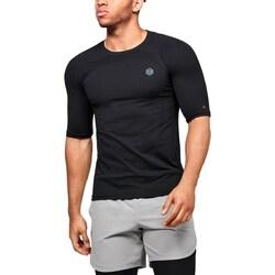 textil Herre T-shirts m. korte ærmer Under Armour UA Rush HG Seamless Compression Sort