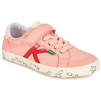 Sko Pige Lave sneakers Kickers GODY Pink