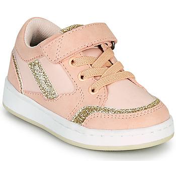 Sko Pige Lave sneakers Kickers BISCKUIT Pink