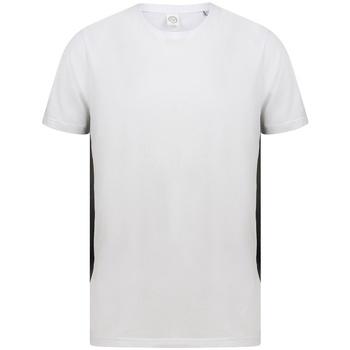 textil T-shirts m. korte ærmer Sf SF253 White/Black