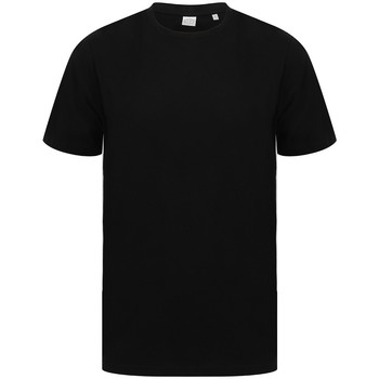 textil T-shirts m. korte ærmer Sf SF253 Black/White