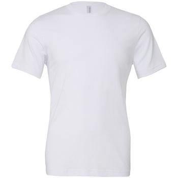 textil T-shirts m. korte ærmer Bella + Canvas CV3001 White