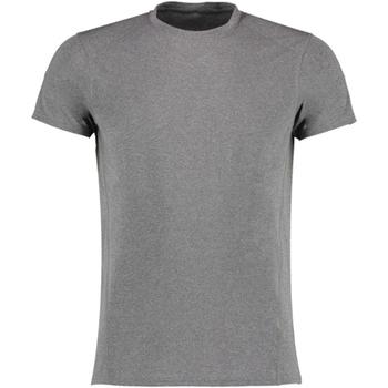 textil Herre T-shirts m. korte ærmer Gamegear KK939 Grey Melange