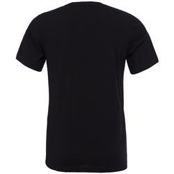 textil T-shirts m. korte ærmer Bella + Canvas CV3001 Black