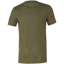 textil T-shirts m. korte ærmer Bella + Canvas CV3001 Military Green