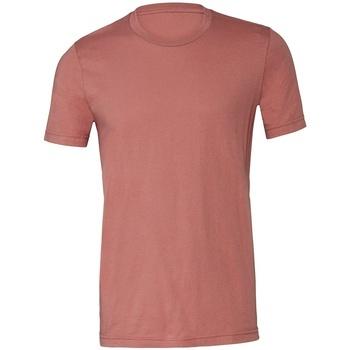 textil T-shirts m. korte ærmer Bella + Canvas CV3001 Mauve