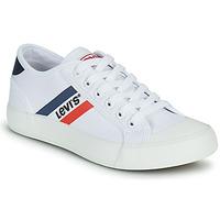 Sko Dreng Lave sneakers Levi's MISSION Hvid