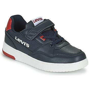 Sko Dreng Lave sneakers Levi's SHOT Marineblå