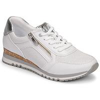 Sko Dame Lave sneakers Marco Tozzi  Hvid