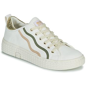 Sko Dame Lave sneakers Palladium Manufacture TEMPO 02 CVSG Hvid