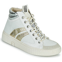 Sko Dame Høje sneakers Palladium Manufacture TEMPO 03 TXT Hvid