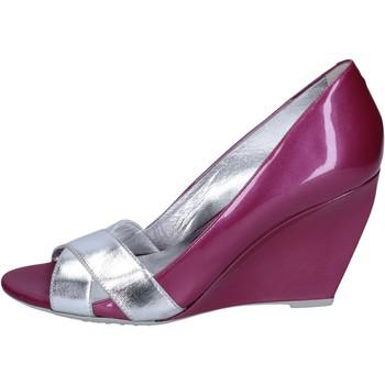 Sko Dame Højhælede sko Hogan Decollete sko BK708 Violet