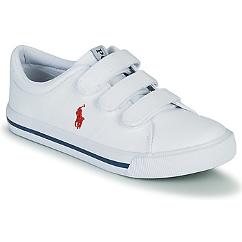 Sko Børn Lave sneakers Polo Ralph Lauren ELMWOOD EZ Hvid