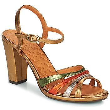Sko Dame Sandaler Chie Mihara ADIEL Grøn / Bronze