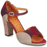 Sko Dame Sandaler Chie Mihara ADAIR Bordeaux / Beige