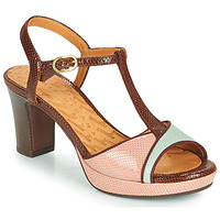 Sko Dame Sandaler Chie Mihara NATI Brun / Pink / Grøn