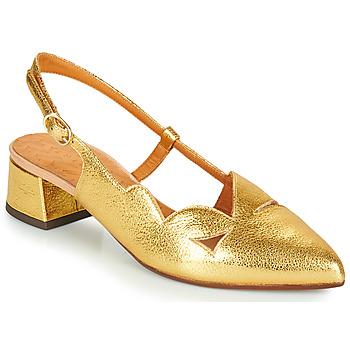Sko Dame Højhælede sko Chie Mihara R-RUNE Guld