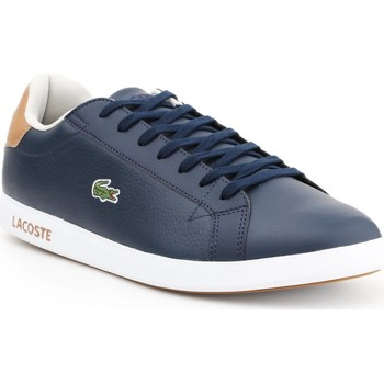 Sko Herre Lave sneakers Lacoste Graduate LCR3 118 1 SPM 7-35SPM00134C1 navy , brown