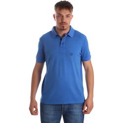 textil Herre Polo-t-shirts m. korte ærmer Gaudi 911BU64063 Blå