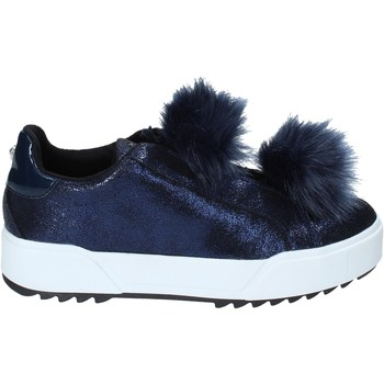 Sko Dame Slip-on Apepazza HYB04 Blå