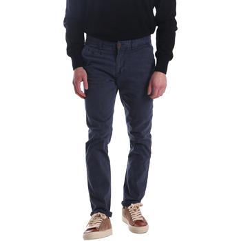 textil Herre Chinos / Gulerodsbukser Automatic PAU22172 Blå
