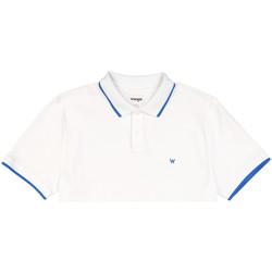 textil Herre Polo-t-shirts m. korte ærmer Wrangler W7D5K4989 hvid