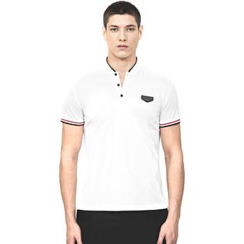 textil Herre Polo-t-shirts m. korte ærmer Antony Morato MMKS01467 FA100083 hvid