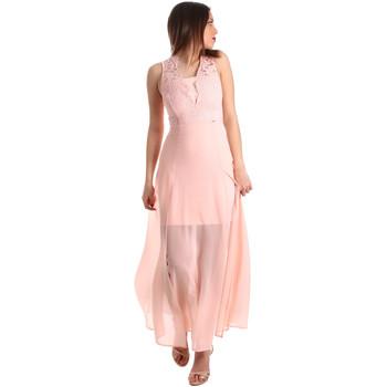 textil Dame Lange kjoler Gaudi 911FD15004 Lyserød