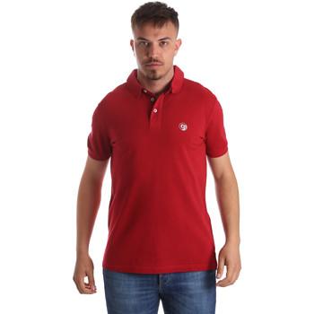 textil Herre Polo-t-shirts m. korte ærmer Gaudi 911BU64063 Rød