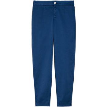 textil Dame Chinos / Gulerodsbukser Nero Giardini E060100D Blå