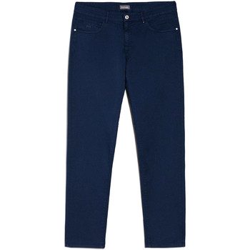 textil Herre Chinos / Gulerodsbukser Nero Giardini E070630U Blå