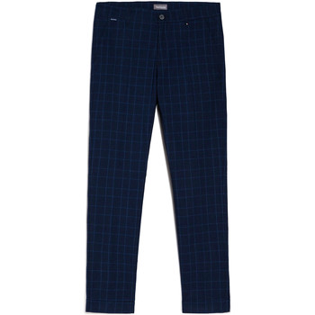 textil Herre Chinos / Gulerodsbukser Nero Giardini E070682U Blå