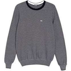 textil Herre Pullovere Nero Giardini E074590U Blå