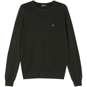 textil Herre Pullovere NeroGiardini E074600U Grøn