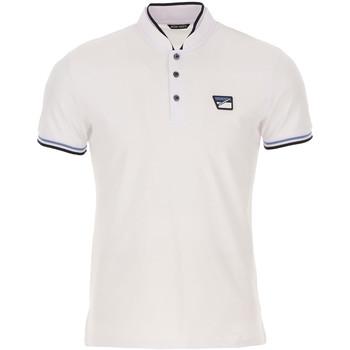 textil Herre Polo-t-shirts m. korte ærmer Antony Morato MMKS01691 FA100083 hvid