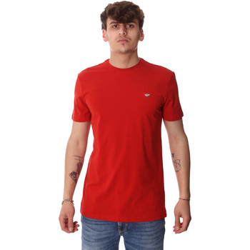 textil Herre T-shirts m. korte ærmer Antony Morato MMKS01737 FA120022 Rød