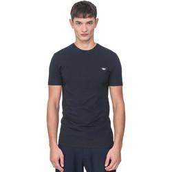 textil Herre T-shirts m. korte ærmer Antony Morato MMKS01737 FA120022 Blå