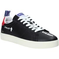 Sko Herre Lave sneakers Gas GAM914022 Sort