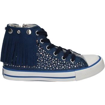 Sko Børn Høje sneakers Lulu LV010074T Blå