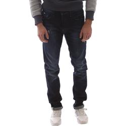 textil Herre Smalle jeans Gas 351144 Blå