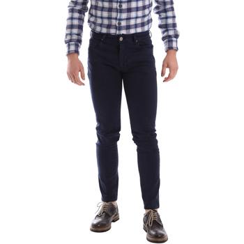 textil Herre Lærredsbukser Sei3sei 02696 Blå