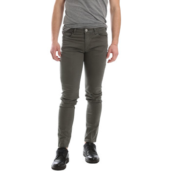 textil Herre Lærredsbukser Sei3sei 02696 Grøn