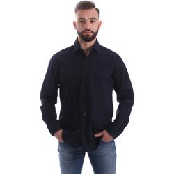 textil Herre Skjorter m. lange ærmer Gmf 962250/01 Blå