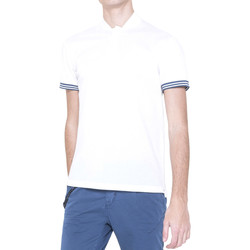 textil Herre Polo-t-shirts m. korte ærmer Antony Morato MMKS00999 FA100083 hvid