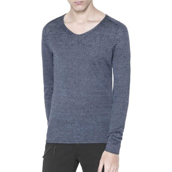 textil Herre Pullovere Antony Morato MMSW00639 YA500041 Blå