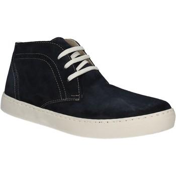 Sko Herre Høje sneakers Café Noir XN601 Blå