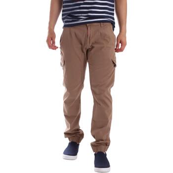 textil Herre Cargo bukser Gaudi 71BU25013 Beige