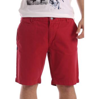 textil Herre Shorts Gaudi 71BU25028 Rød
