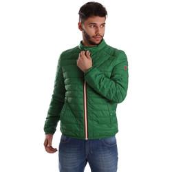 textil Herre Dynejakker Gaudi 71BU35035 Grøn